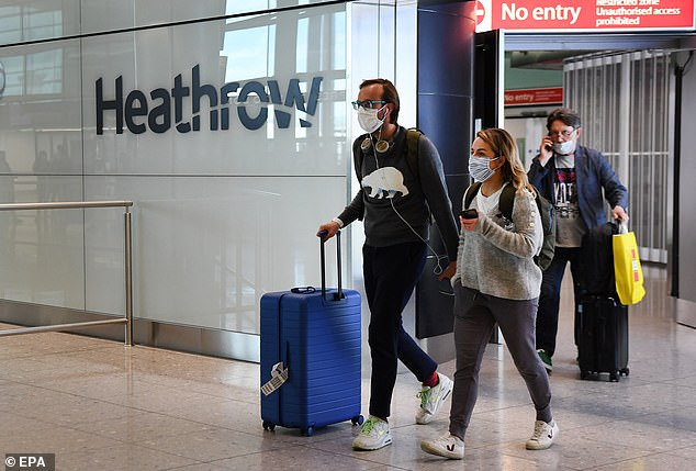 A BA spokesperson said they don't expect their business to return to 2019 activity levels until at least 2023 due to the coronavirus pandemic (file photo)