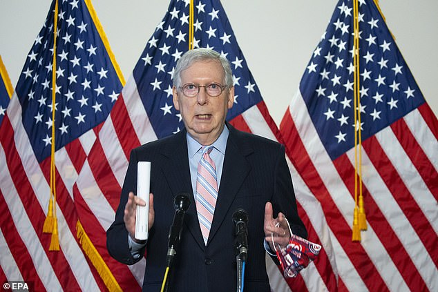 Senate Republicans did put forth a new COVID-19 relief package on Monday but didn't mention eviction moratoriums