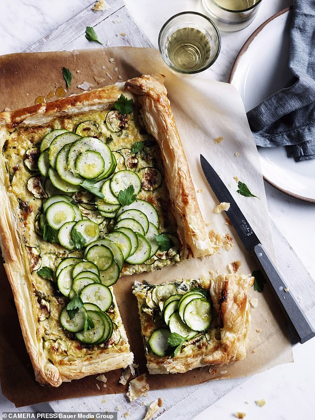 Put in the centre of the oven for 25mins or until the egg has set (502 calories per serving)