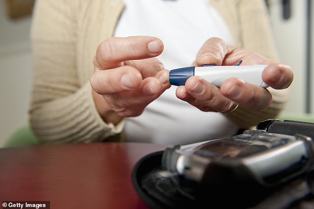 So strong are the associations between type 2 diabetes and Alzheimer's disease that some describe the incurable brain disease as ¿type 3 diabetes¿ (file photo)