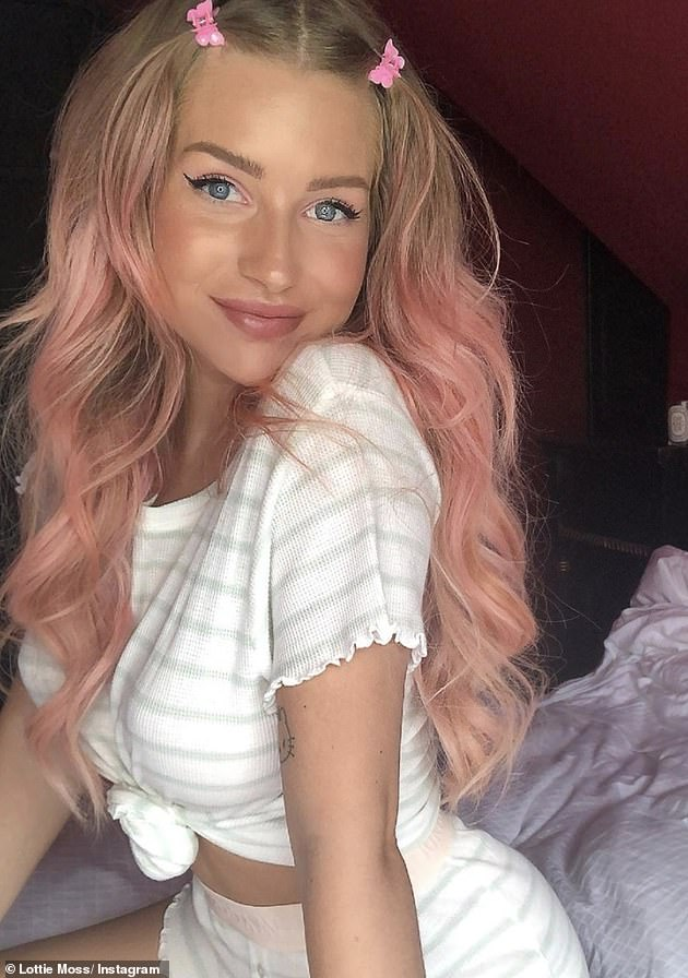 Former Flames: Lottie has previously been linked to Alex Mytton and Jamie Lain as well as Brooklyn Beckham, George Lineker and Rafferty Law