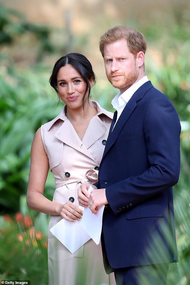 Earlier this year, Meghan and Harry quit their royal duties and said they would separate their time between Britain and America