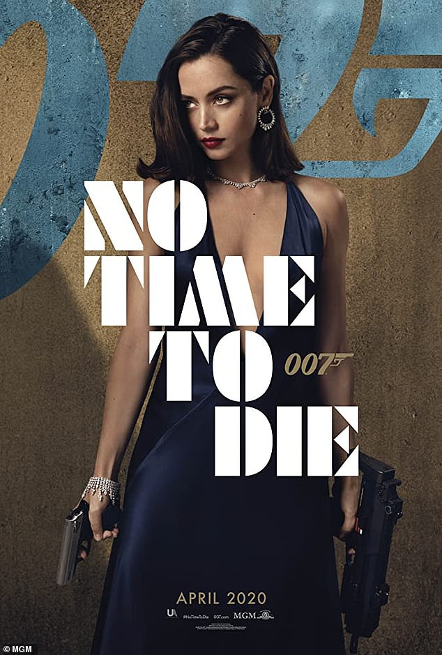Postponed: No Time To Die was originally slated for an April 2020 theatrical release, but, like many impending films, it was postponed