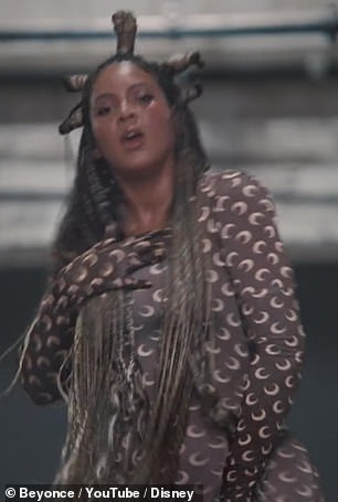 Goddess of the moon: Bey donned the look of Marine Serre in the video of Deja