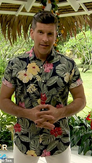 Buff: Bachelor In Paradise star Osher Gunsberg, 46, (pictured) has revealed the real reason he won't go shirtless on Instagram after his incredible body transformation