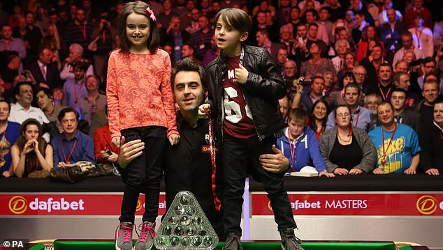 Ronnie had Taylor-Ann (not pictured) with Sally-Ann Magnus, who he dated in 1996. Pictured is his other daughter Lily - born 2006, and son Ronnie Jnr
