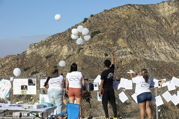 Fans drop balloons over lake where Rivera tragically lost his life last month