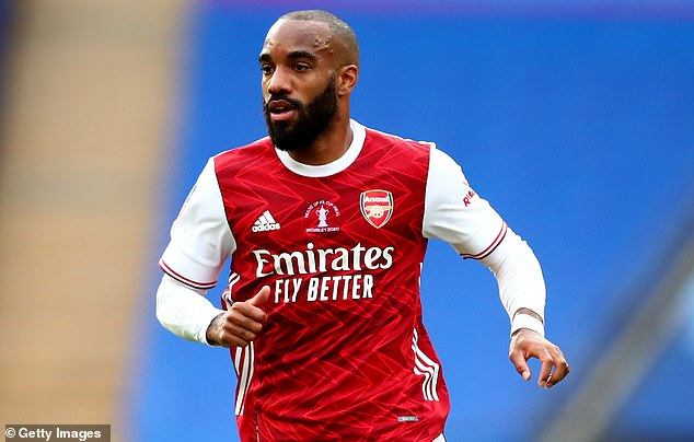 Arsenal desperately want to keep Aubameyang but partner Alexandre Lacazette could leave