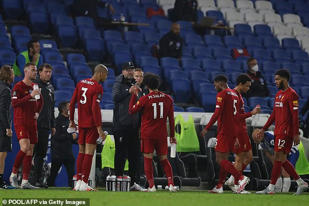 Jurgen Klopp wants to avoid injury as his side try to keep Premier League title