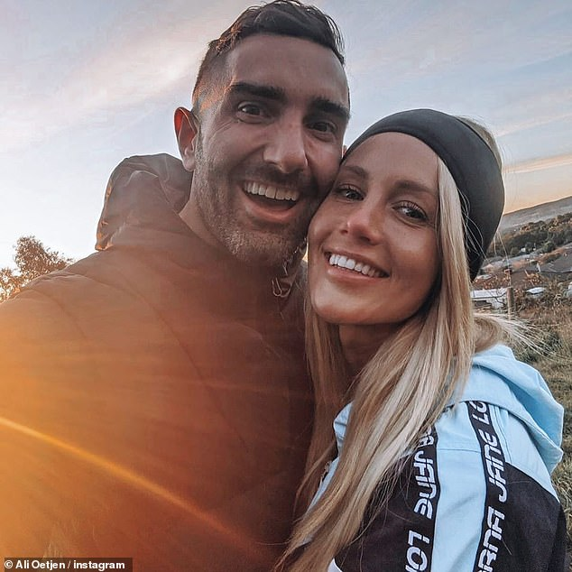 Over! Ali and Taite announced their split in July, after two years together, confirming that they were 'taking time apart' and giving each other 'some space'