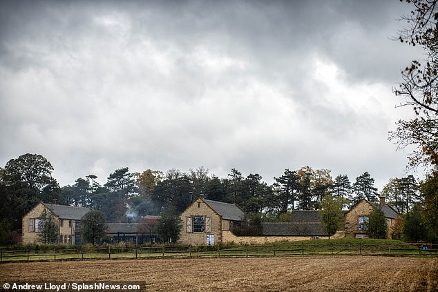 Country escape: Neighbor said he was concerned any changes to the terrain would change the look of the entire area (photo of the Beckhams house)