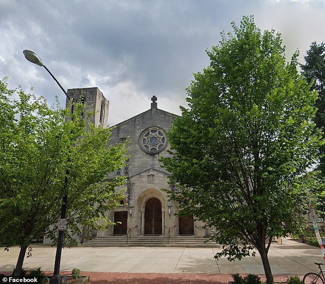 250 staff and worshipers at Holy Comforter St. Cyprian Church in Washington, DC (pictured) have been ordered to self-isolate for 14 days