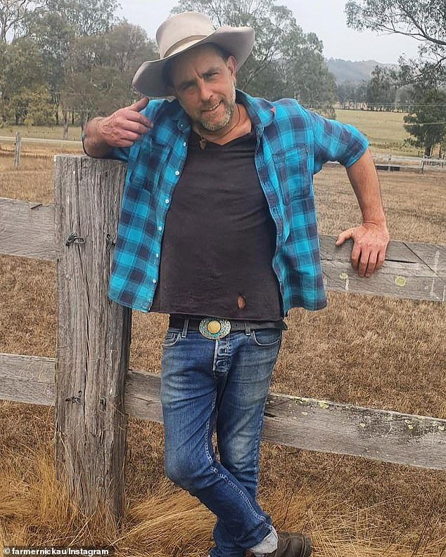 Farmer Nick Onassis, 44, is spotted on dating app Bumble after debut on Farmer Wants A Wife
