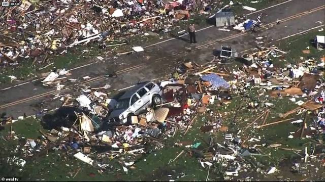 A tornado is believed to have passed through the Cedar Landing community (pictured) of Bertie County overnight, according to officials