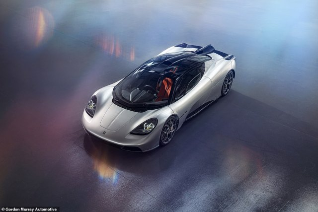 Just 100 Gordon Murrary Automotive T.50 supercars will be produced. The price? A cool £2.36million plus tax. So that's £2.83million with VAT