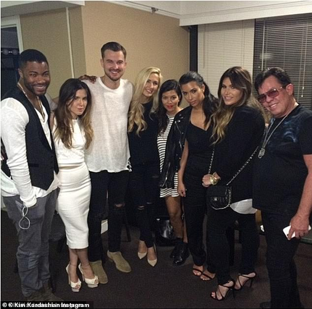In a 2016 interview Wilkerson said he's close with the Kardashian family. 'They're friends of mine and I love them,' Wilkerson said. 'I believe in them and I think they've got an amazing, amazing relationship. I think that they work hard to continue to make it happen.'