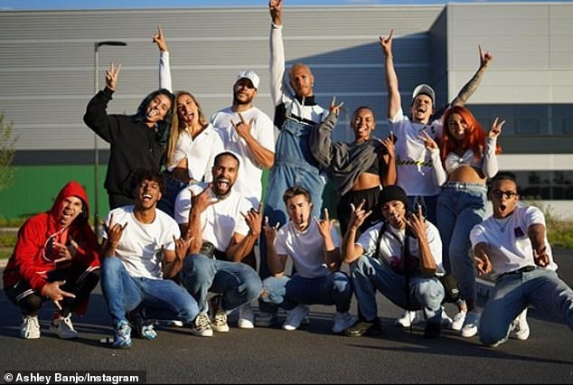 Responsibility:Speaking exclusively to Mail Online ahead of the launch of Malibu's Coconut Challenge, the Dancing On Ice judge, 31, discussed what it's like isolating with his dance troupe Diversity and admitted he feels the pressure of being responsible for their welfare