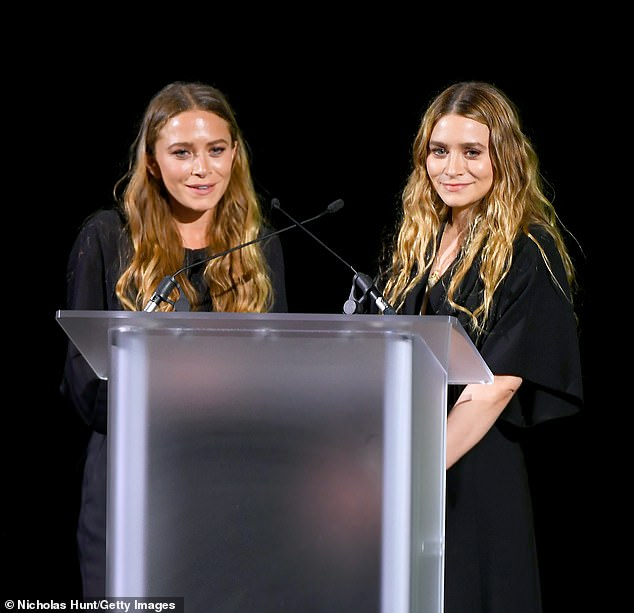 Team: The Council of Fashion Designers of America previously gave the twin tycoons five awards from the same two categories in 2012, 2014, 2015, 2018, and 2019 (pictured in 2019)