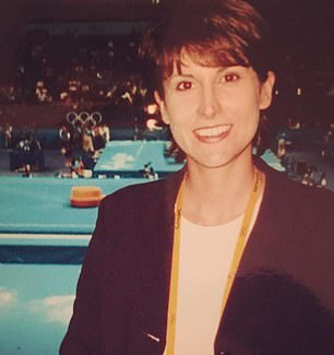 THEN: Natalie Barr reporting at the 2020 Sydney Olympics for Seven when she was in her 30s
