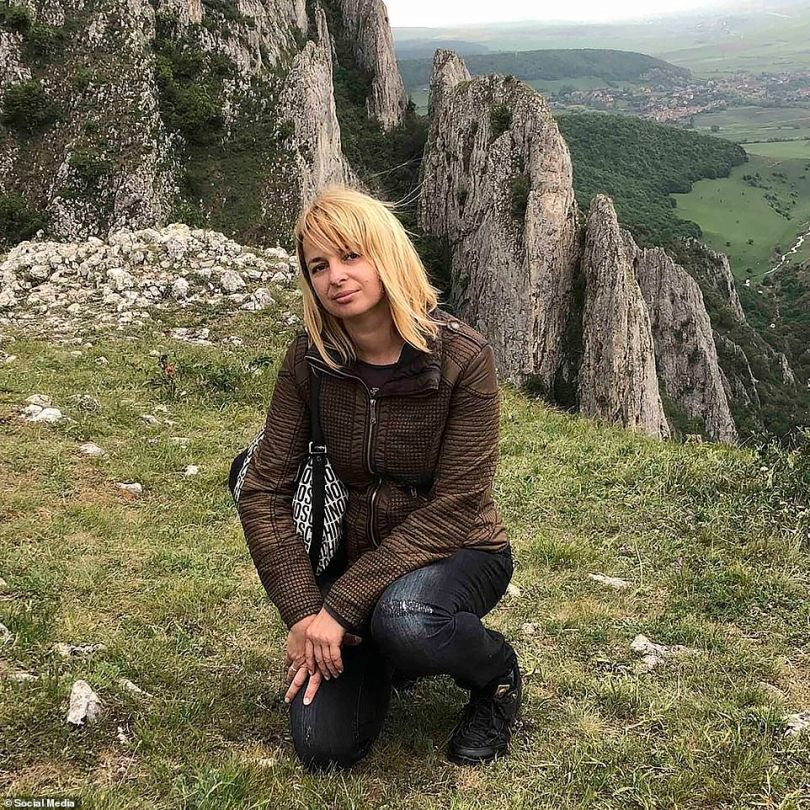 Igor Grechushkin - who currently lives in Cyprus with wife Irina (pictured)