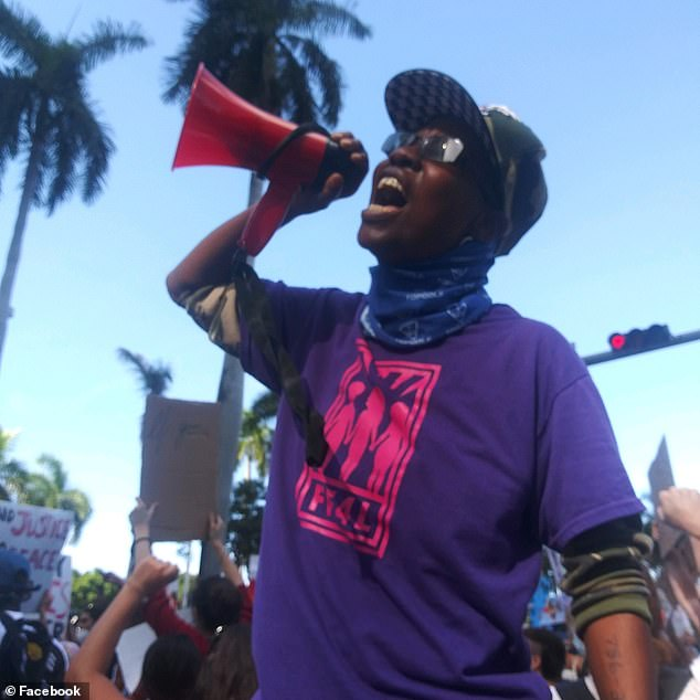 Johns is known for her activism in the South Florida area and wants to abolish the police