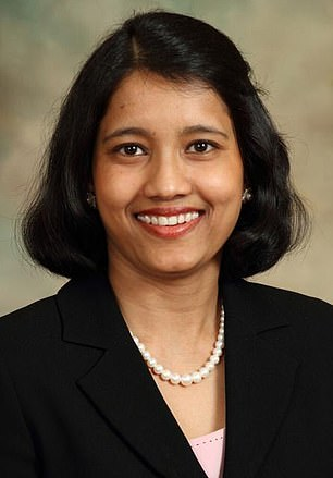 Scientist and mom-of-two Sarmistha Sen (pictured) was murdered and her body dumped in a creek while out on her daily run in Texas at the weekend