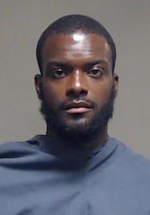 Plano police have named burglary suspect Bakari Moncrief (pictured) as a person of interest in the slaying