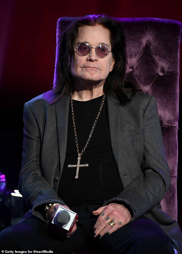 Health struggles: Earlier this week, Ozzy, 71, who has been diagnosed with Parkinson's disease, he has undergone spinal surgery after suffering excruciating back pain
