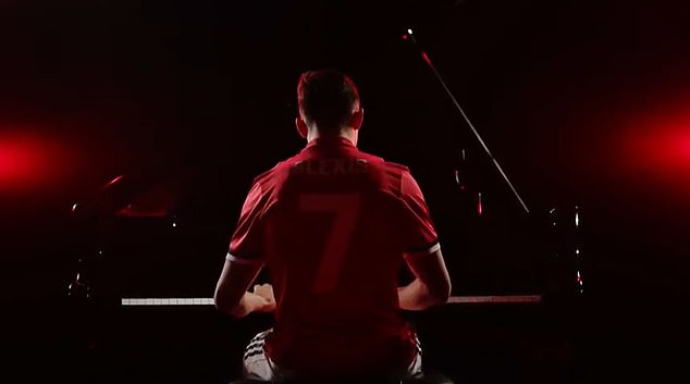 Sanchez's unveiling at United saw him playing the piano on the middle of the Old Trafford pitch