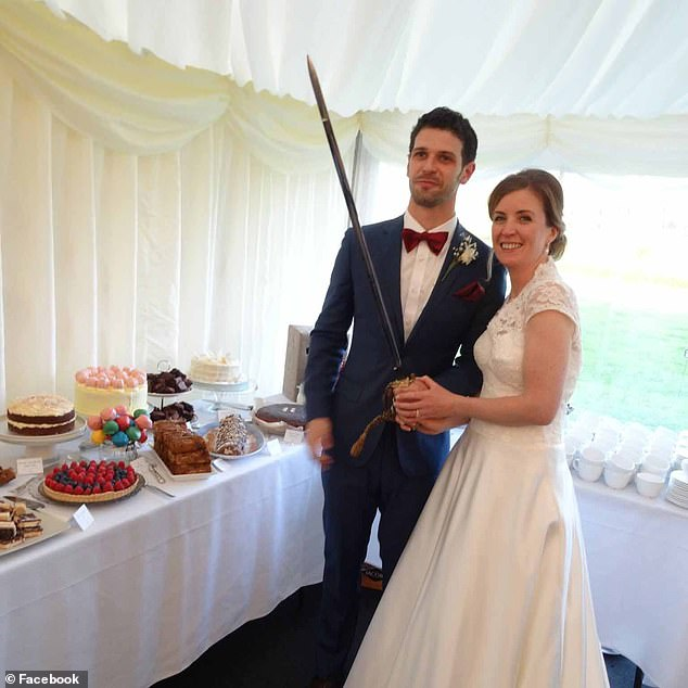 Josephine Conlon, 36, pictured with husband Greg, was ambushed by violent thug Mark Brazant, 44, in Streatham on December 30, just days after he had been released from prison