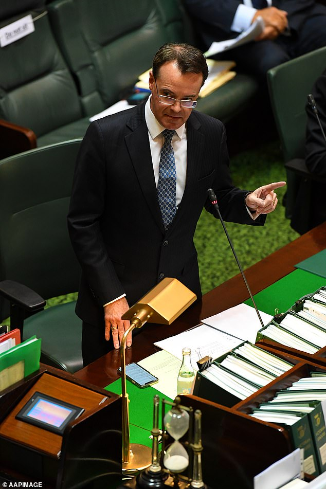State opposition leader Michael O'Brien (pictured) said Daniel Andrews was at the heart of the 'biggest public policy failure in Australian history'
