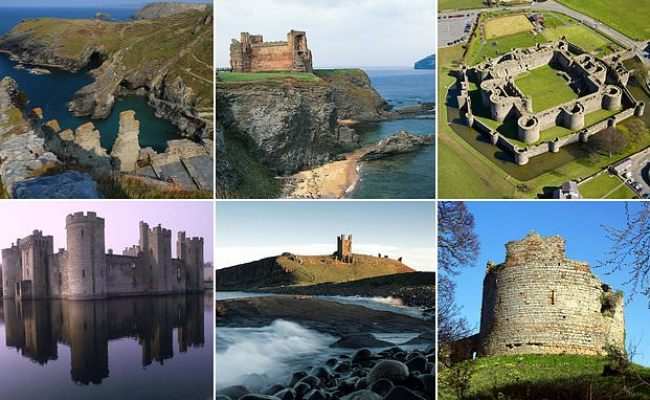 I M A Celebrity 2020 Ruined British Castles Could Host