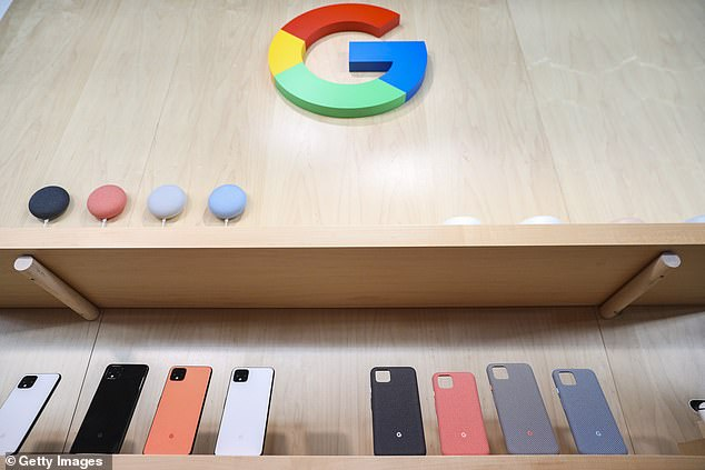 Google's Pixel 4 (pictured above) was unveiled in an event in New York City in October 2019