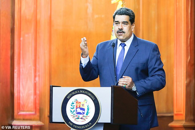 Nicolas Maduro, the president of Venezuela, is not recognized by the United States