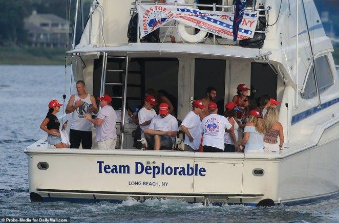 Tiffany, Don Jr and Kimberly attend Montauk boat party ahead of president's  Hamptons fundraising - Angle News