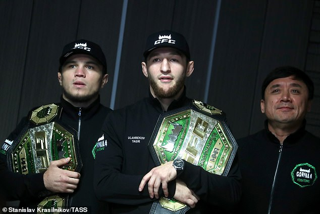 The bantamweight (left) was a champion at Gorilla and is looking to rise through the UFC ranks
