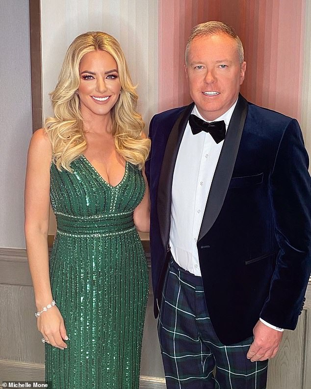 Delayed: The Scottish entrepreneur, 49, who was initially set to tie the knot with billionaire Doug Barrowman in early spring, before rescheduling for August 8