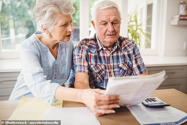 In a total of 110 Tory seats, at least 85 per cent of over-75s households will have to start paying the fee (stock image)