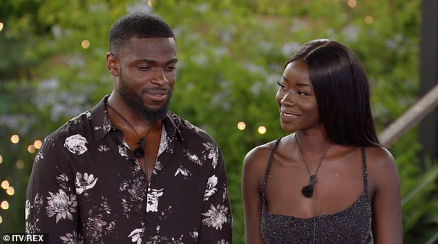 Success story: The couple are still going strong since meeting in the 2020 Love Island series earlier this year and Priscilla even called him her 'baby daddy' on a revealing Instagram post