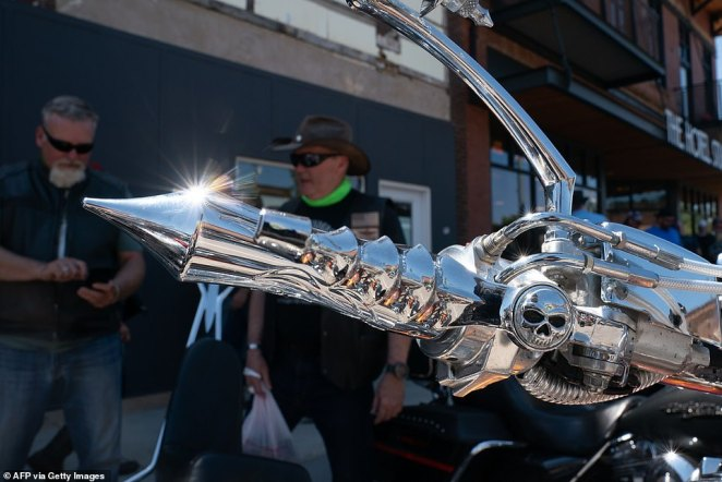 Bikers from across the United States have descended on South Dakota for the annual rally