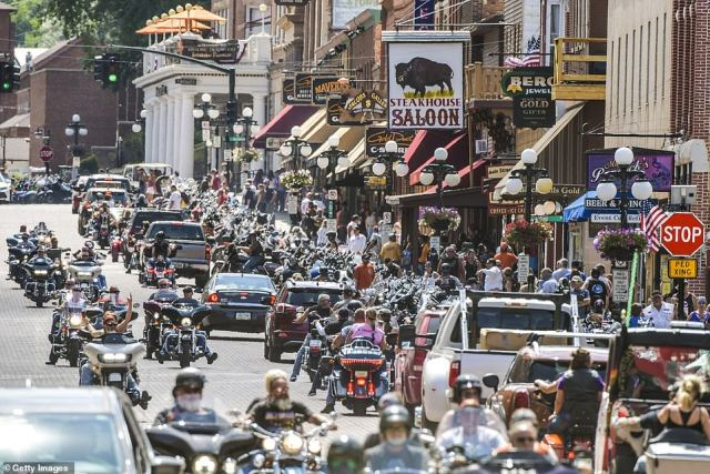 Sturgis, South Dakota, is set to welcome 250,000 people this weekend for a motorbike rally
