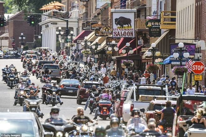 The city usually sees half a million people for the 80-year tradition but about half that number is expected due to the pandemic at the event that typically puts $800million into the local economy