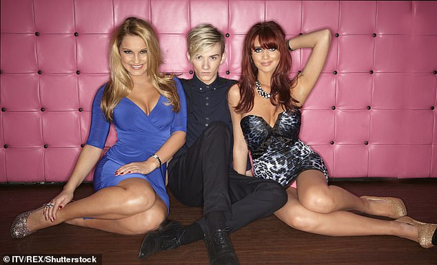 Moved on: She said:'I won't be getting involved because, to be honest, it's like I'm at a different stage in my life now' (pictured with Harry Derbridge and Amy Childs in 2011)