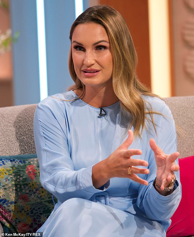 Closed door: Samantha Faiers revealed on Saturday that she won't be returning to the hit TV show, The Only Way Is Essex, for it's ten-year reunion later this year (pictured 2019)