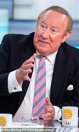 Broadcaster Mr Neil's years with the BBC also stand him in good stead.