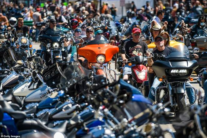 The Cheyenne River Sioux tribe has set up strategic checkpoints around reservation land to prevent attendees of the 10-day Sturgis Motorcycle Rally in Sturgis, South Dakota from coming in for fear of a potential coronavirus outbreak in the city of 7,000 people