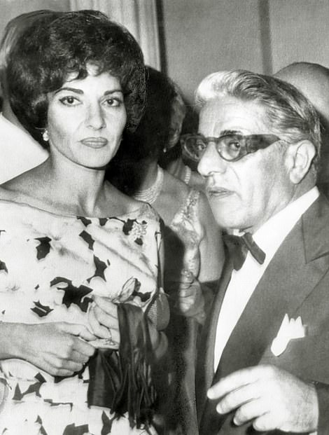 Maria Callas first met Greek billionaire Aristotle Onassis (1906-1975) in 1957 and the pair started up a famous love affair that continued for over 11 years