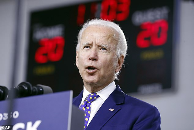 The announcement of a slew of everyday American speakers for the convention lineup comes as a new poll shows presumptive Democratic nominee Joe Biden winning in some key middle America swing states that went red in 2016