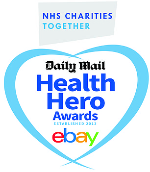 The Daily Mail Health Hero Awards runs in partnership with eBay and NHS Charities Together