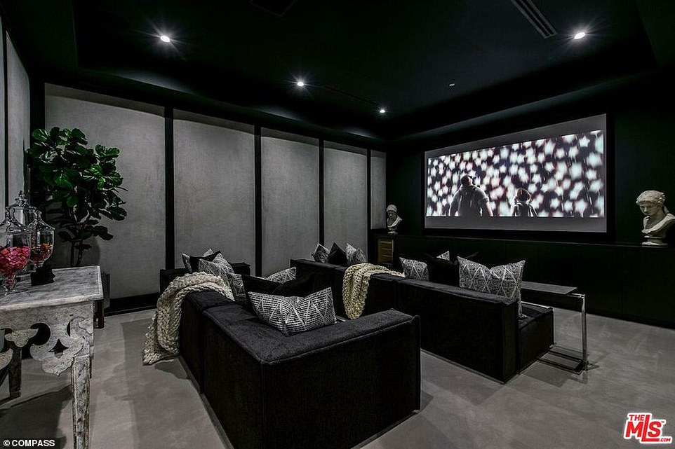 Cosy: There will be plenty of opportunities for movie nights in this space